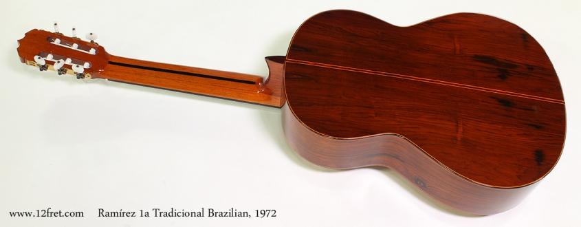 Ramírez 1a Tradicional Brazilian, 1972 Full Rear View