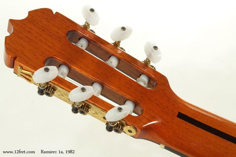 Ramirez 1a Classical 1982  head rear