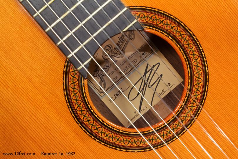 Ramirez 1a Classical 1982  label
