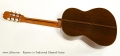 Ramirez 1a Tradicional Classical Guitar Full Rear View