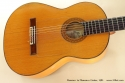 Ramirez ia Flamenco Guitar 1981 top