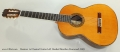 Ramirez 1a Classical Guitar Left Handed Brazilian Rosewood, 2003 Full Front View