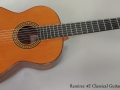 Ramirez 4E Classical Guitar, 1991 Full Front View