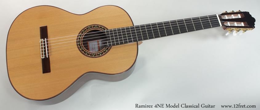 Ramirez 4NE Model Classical Guitar Full Front VIew