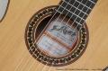 Ramirez 4NE Model Classical Guitar Label