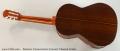 Ramirez Conservatorio Concert Classical Guitar Full Rear View