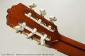 Ramirez Conservatorio Concert Classical Guitar Head Rear View