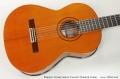 Ramirez Conservatorio Concert Classical Guitar  Top View