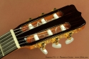 Ramirez FL1 Flamenco Guitar head front view
