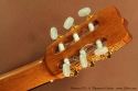Ramirez FL1 Flamenco Guitar head rear view