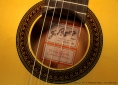 Ramirez FL1 Flamenco Guitar label