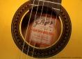 Ramirez FL1 Flamenco Guitar label