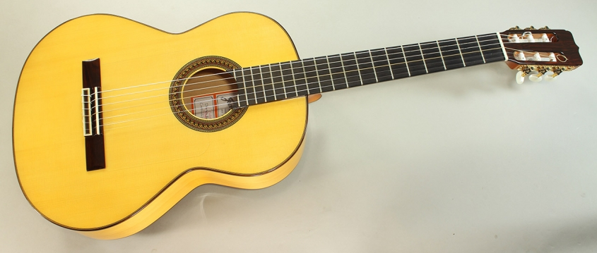 Ramirez Fl1a Flamenco Guitar, 2013 Full Front View