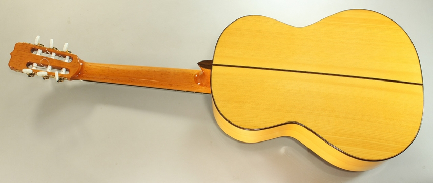 Ramirez Fl1a Flamenco Guitar, 2013 Full Rear View