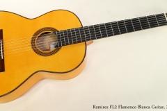 Ramirez FL2 Flamenco Blanca Guitar, 2006   Full Front View