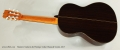 Ramirez Guitarra del Tiempo Cedar Classical Guitar, 2017 Full Rear View