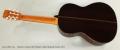 Ramirez Guitarra del Tiempo Cedar Classical Guitar, 2017 Full Rear View