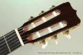 Ramirez Guitarra del Tiempo Cedar Classical Guitar, 2017 Head Front View