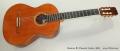 Ramirez R2 Classical Guitar, 2003 Full Front View
