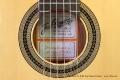 Ramirez RA Solid Top Classical Guitar Label View
