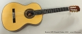 Ramirez SPR Classical Guitar, 2012 Full Front View