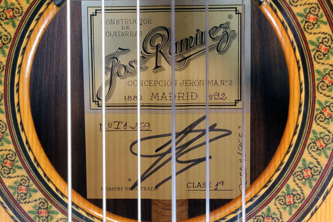 Ramirez 1a Label, 1992