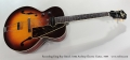 Recording King Roy Smeck A104 Archtop Electric Guitar, 1939 Full Front View