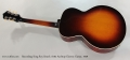 Recording King Roy Smeck A104 Archtop Electric Guitar, 1939 Full Rear View