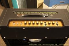 Reinhardt 18 Combo 1x12 Tube Amplifier, 2007 Controls View