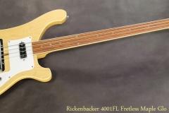Rickenbacker 4001FL Fretless Maple Glo 1978 Full Front View