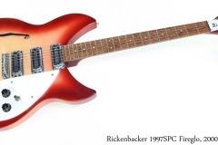 Rickenbacker 1997SPC Fireglo, 2000 Full Front View