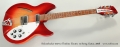 Rickenbacker 330-12 Thinline Electric 12 String Guitar, 2008 Full Front View