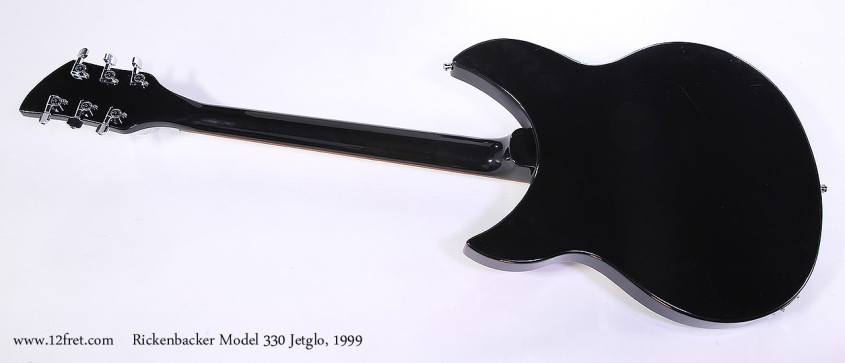 Rickenbacker Model 330 Jetglo, 1999 Full Rear View