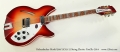 Rickenbacker Model 360/12C63 12 String Electric FireGlo 2014 Full Front View