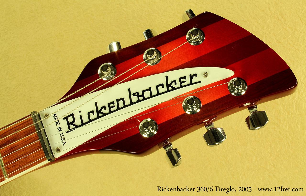Rickenbacker 360 / 6 2005 head front