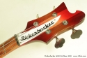 Rickenbacker 4001 c64 Fireglo Bass 2009 head front