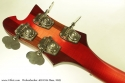 Rickenbacker 4001 c64 Fireglo Bass 2009 head rear
