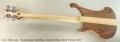 Rickenbacker 4003 Bass, Limited Edition Satin Walnut, 2015 Full Rear View