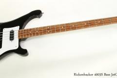 Rickenbacker 4003S Bass JetGlo, 2016  Full Front View