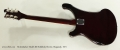 Rickenbacker Model 480 Solidbody Electric, Burgundy, 1973 Full Rear View
