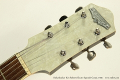 Rickenbacker Ken Roberts Electro Spanish Guitar, 1935  Head Front View