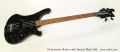 Rickenbacker Shadow 4003 Bass Jet Black 1986  Full Front View
