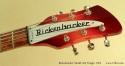 Rickenbacker 325 Fireglo 1974 head front