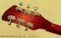 Rickenbacker 325 Fireglo 1974 head rear