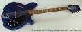 Rickenbacker 360/12 12 String, Midnight Blue, 1991 Full Front View