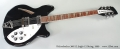 Rickenbacker 360/12 Jetglo 12 String, 1999 Full Front View