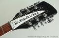 Rickenbacker 360/12 Jetglo 12 String, 1999  Head Front