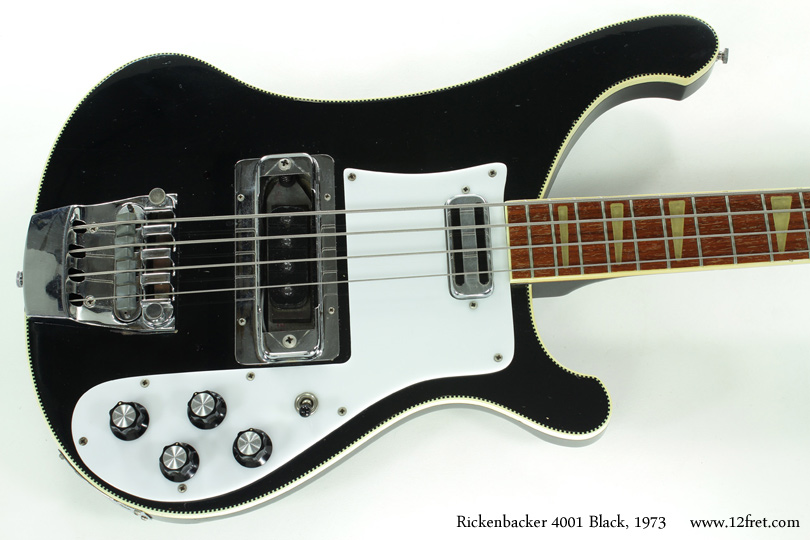 Rickenbacker 4001 Bass Jetglo 1973 top