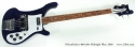 Rickenbacker 4001c64s Midnight Blue 2009 full front view