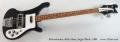 Rickenbacker 4001s Bass, Jetglo Black, 1980 Full Front View